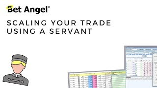 Bet Angel - Using a Servant to scale in and out of a trade