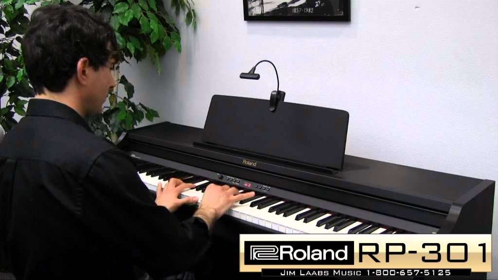 Roland rp 301 digital piano review youtube for Roland vs yamaha piano