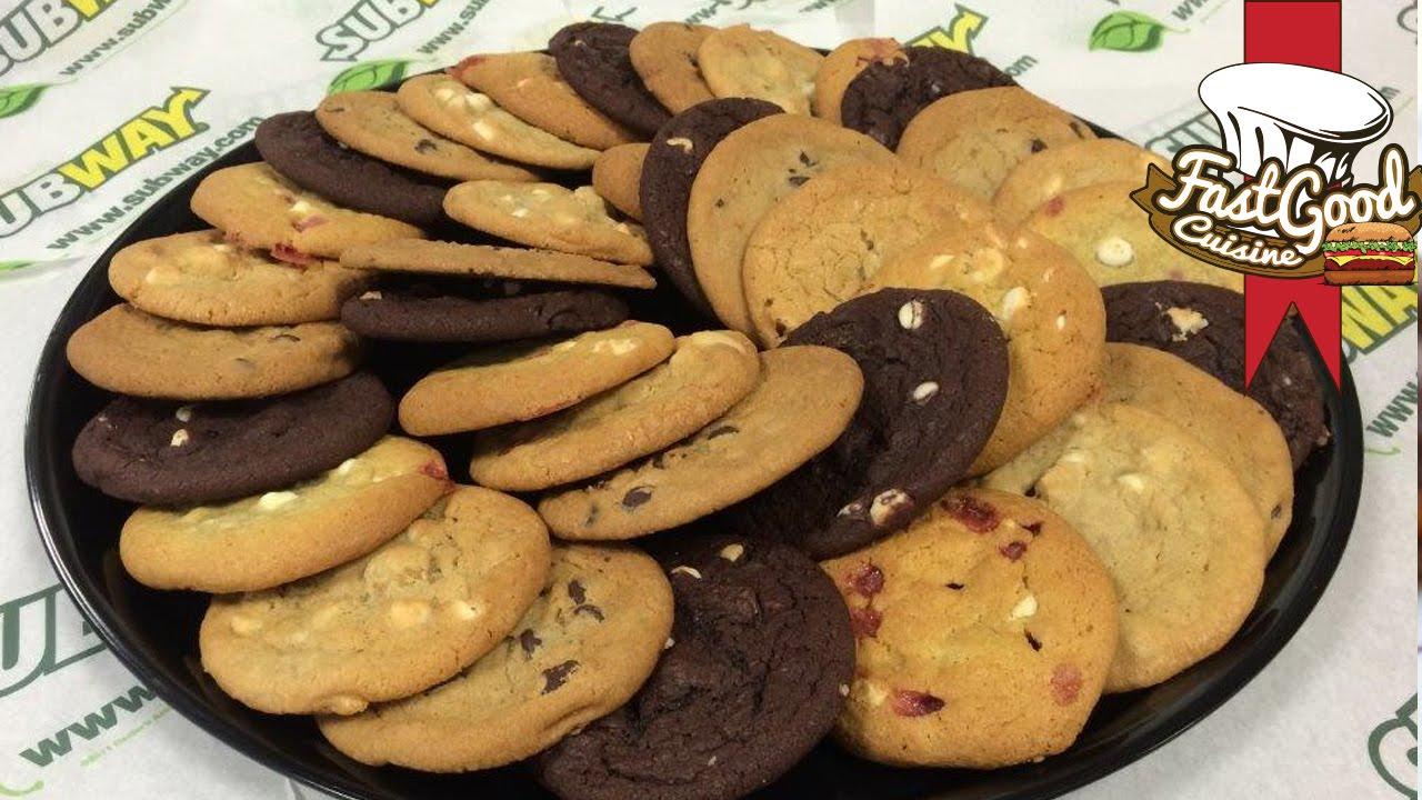 gratis cookie subway