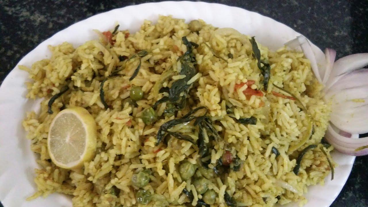 How to make methi rice recipe