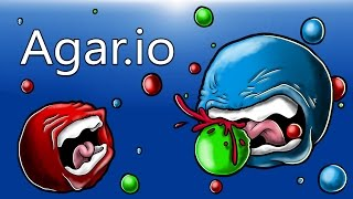 agar io our 1st time playing youtube simulator