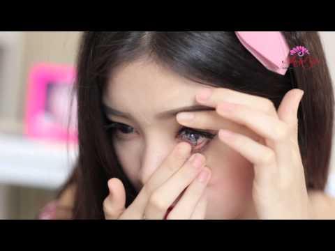 Hướng dẫn sử dụng kính áp tròng & kính giãn tròng - Angel Eyes lens