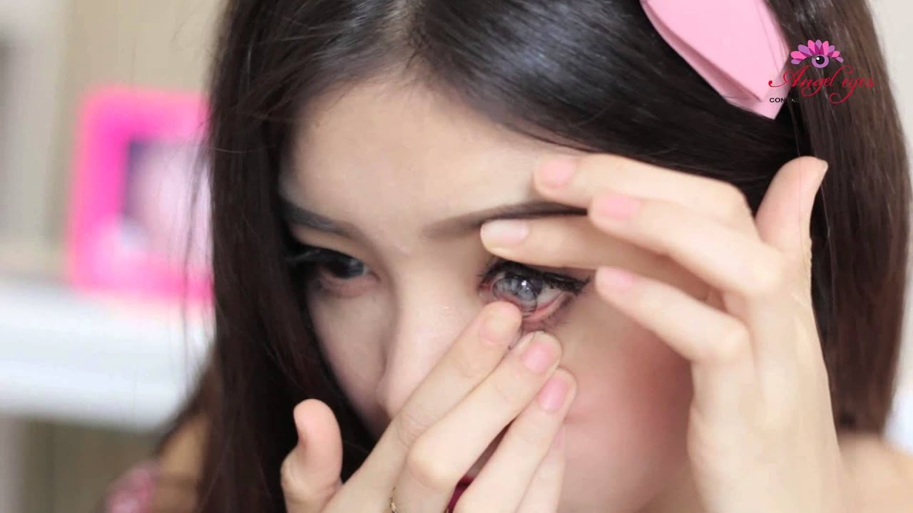 Hướng dẫn sử dụng kính áp tròng & kính giãn tròng – Angel Eyes lens