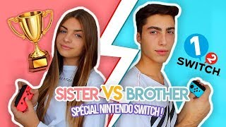 SISTER VS BROTHER - Nintendo Switch Challenge