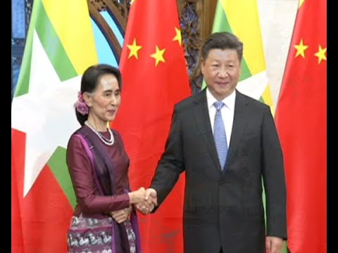 Chinese President Holds Talks with Myanmar