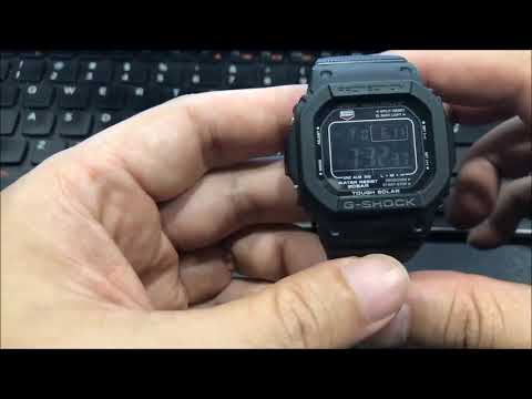 Short Review On The Casio G Shock GW M5610BC 1JF JDM Multi Band 6 With Bracelet By Watch Hobby