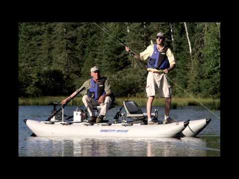 Inflatable Pontoon Fishing Boats