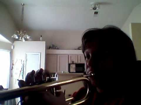 jeopardy theme song on bB trumpet