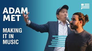 Adam Met of AJR: How the band of brothers rose to fame | Andrew Yang | Yang Speaks