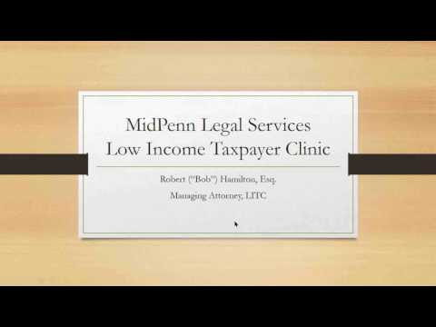 MidPenn Legal Services Low Income Tax Clinic