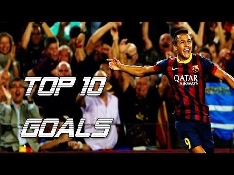 Alexis Sánchez ● Top 10 Goals ● FC Barcelona
