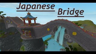 ROBLOX Timelapse / Japanese Bridge with Cafe