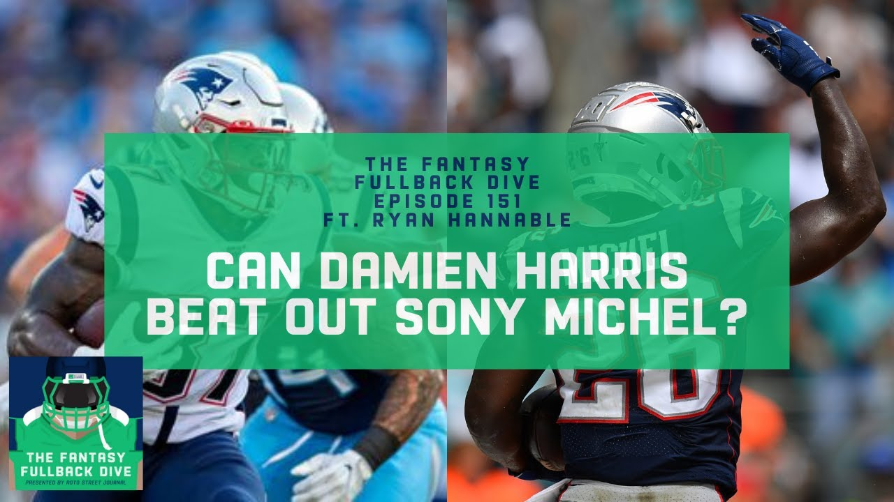 Damien Harris 2020 Fantasy Football Outlook Can Harris Beat Out Sony Michel Youtube