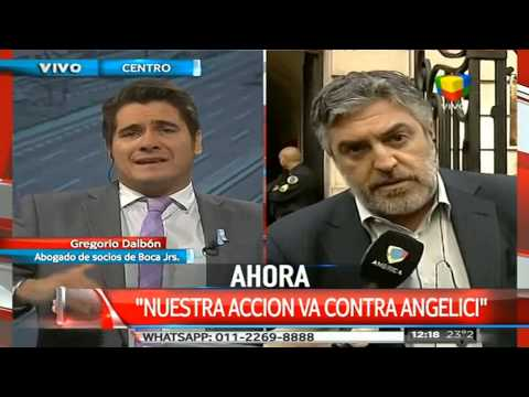"Dalbón:  ""Vamos a ir contra Daniel Angelici"""