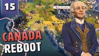 [15] Civilization 6 Canada Reboot - Civ 6 Gathering Storm with June Update
