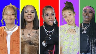 Female Rappers Share Best Advice From Other Rappers