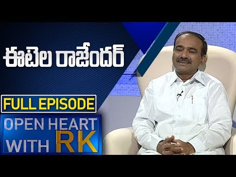 Minister Etela Rajender | Open Heart with RK | Full Episode | ABN Telugu teluguvoice