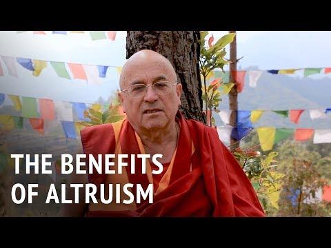 Matthieu Ricard – The Benefits of Altruism