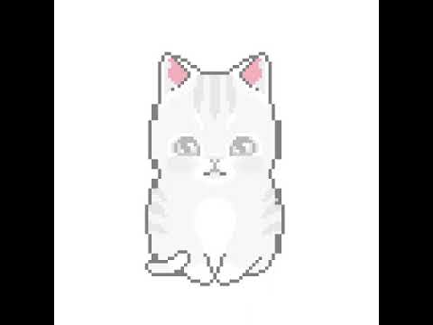 Pixel Art Chaton Youtube