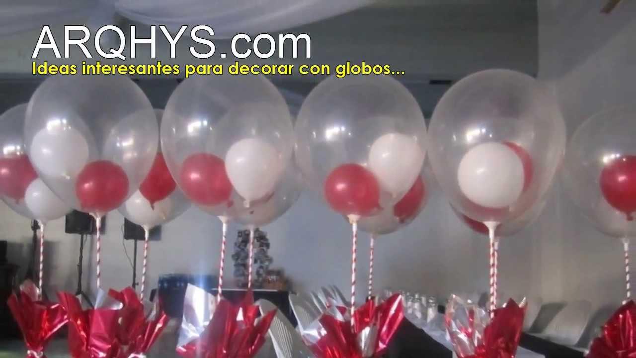 cmo decoro con globos un cumpleaos fiestas bodas dorar con globos ideas fotos youtube