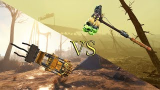 Fallout 4 - Кастеты VS Холодное оружие