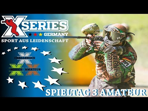 XSeries X5 Amateur Ost 2017 - 3.Spieltag in Gera [Germany][HD][Paintball 2017]