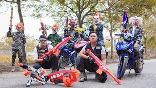 Download Video NERF WAR : Special Mission SWAT Warriors Nerf Guns Fight Attack bandits Mask Nerf Weapon MP3 3GP MP4