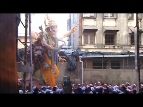 Mumbaicha Raja  Ganesh Galli Visarjan 2015