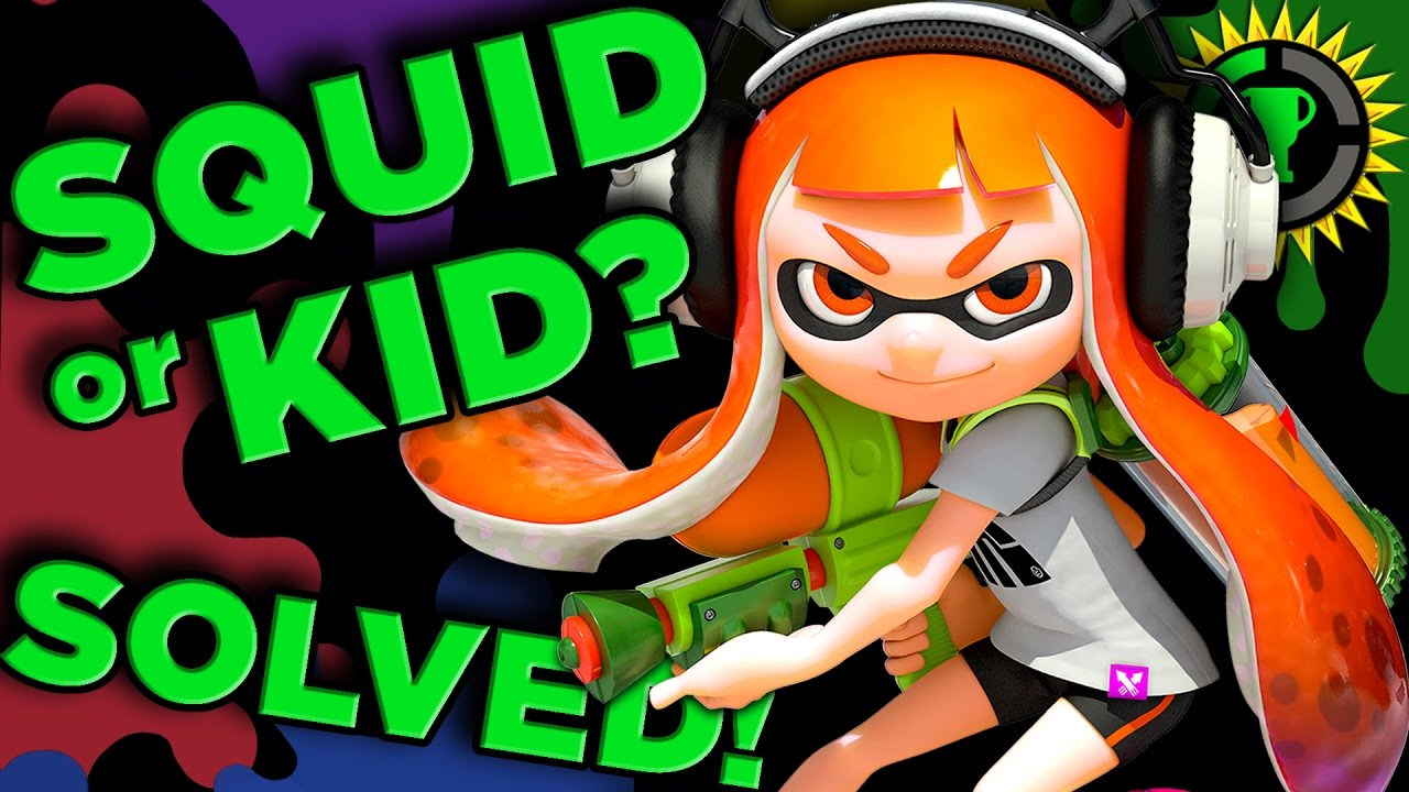 Game Theory: Are You a Kid or Squid? – Splatoon SOLVED!