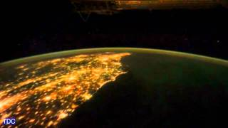 American East Coast from Space at Night