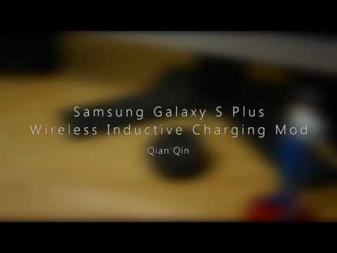 Samsung Galaxy S Wireless Inductive Charging Mod