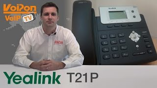 Yealink T21P IP Phone (SIP-T21P) Video Review / Unboxing