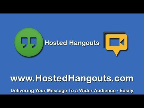 Hosted Hangouts Tutorial, Google Voice And Video Chat Plugin