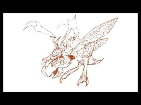 [크리티컬]드로잉 - 저글링 - 그림 그리기 [Critical] Zergling Drawing Speed Drawing