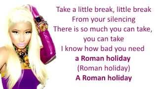 Roman Holiday - Nicki Minaj [ LYRICS ]
