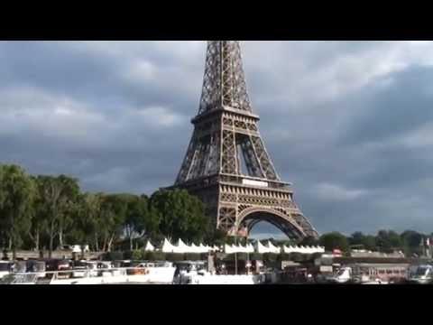 A boat ride along the River Seine