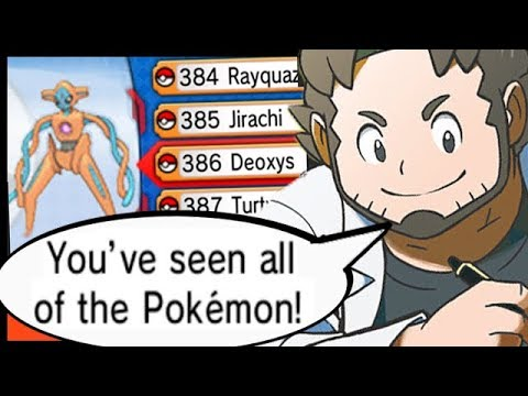 What Happens When You Complete The Pokedex In Remake Pokemon Games?