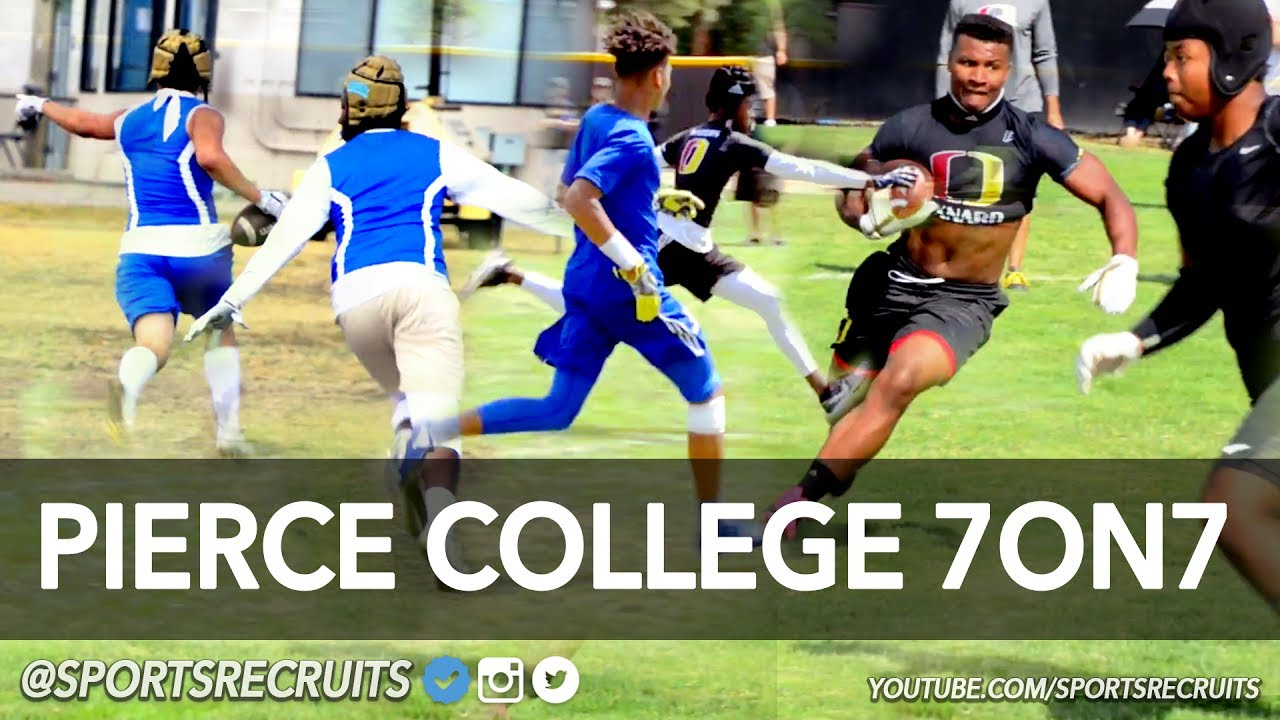 Pierce College 7on7 Football Tournament Official Highlight Mix