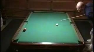 Pool Trick Shots One-Handed