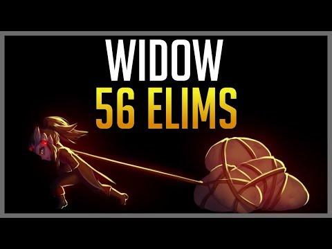 CLUTCH WIDOWMAKER  - 56 ELIMS (4300 SR GAME)