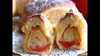Яблочный пирог (отрывной). Рецепт под видео.