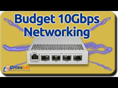 Budget 10Gbps Networking