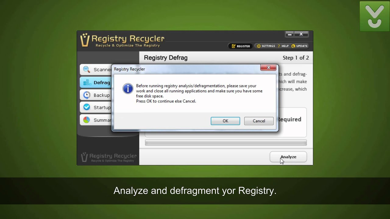 registry recycler windows 7 free download