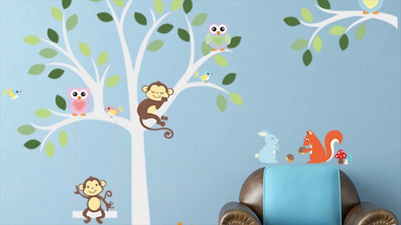 sleep monkey removable wall sticker for kids room youtube sleep monkey removable wall sticker for kids room