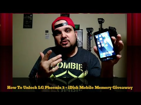 How To Unlock LG Phoenix 3 to any Carrier
