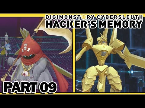 Digimon Story : Cyber Sleuth Hacker's Memory - Part 9 - Phantomon, Duramon & Crazy Battles!!