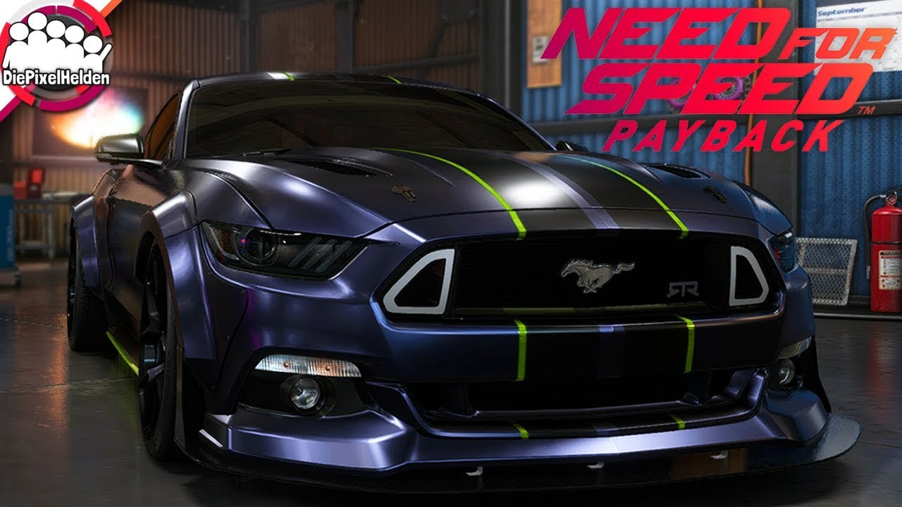 Need For Speed Payback Ford Mustang Gt Racerbuild Nfs