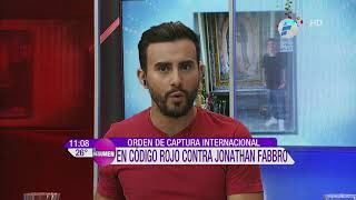 Orden de Captura Internacional para Jonathan Fabbro por abuso sexual