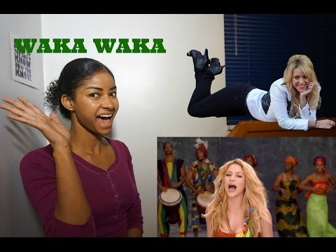 "Shakira ""Waka Waka (This Time for Africa)"" (The Official 2010 FIFA World Cup™ Song) Reaction"