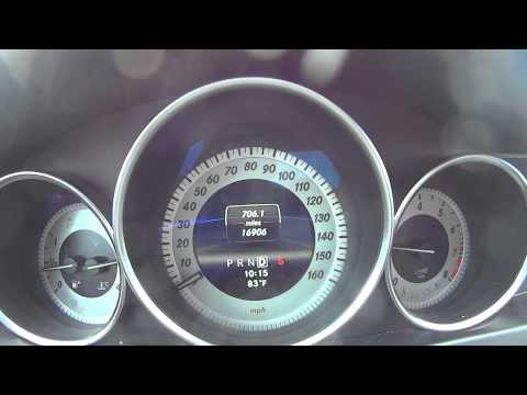 Official 2013 Mercedes C250 Sedan 0-60 Acceleration